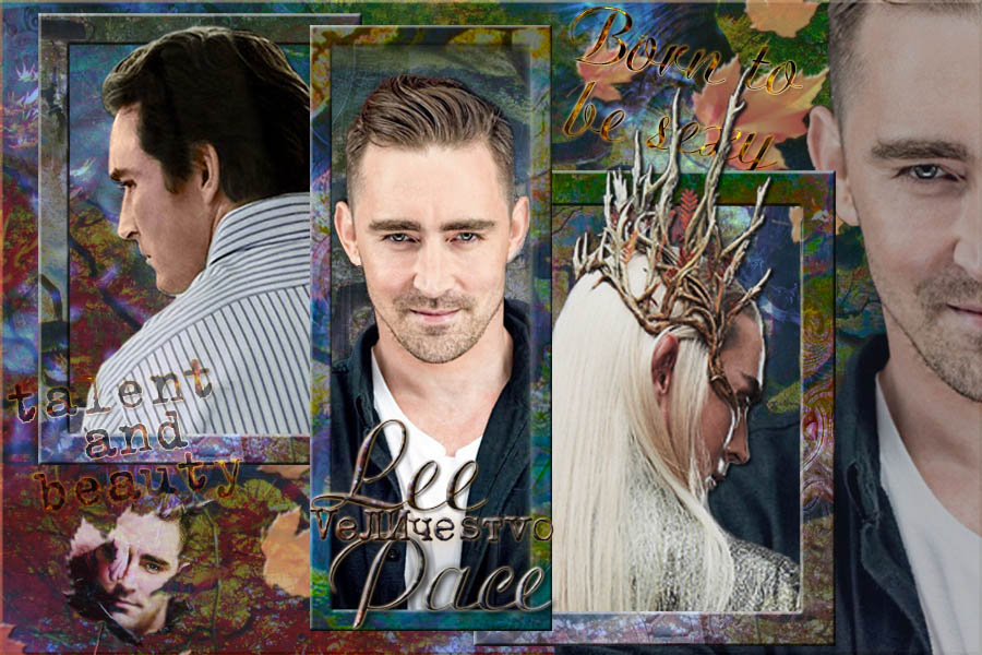 Lee Pace Thranduil Joe Macmillan autumn by OlgaVPirogova