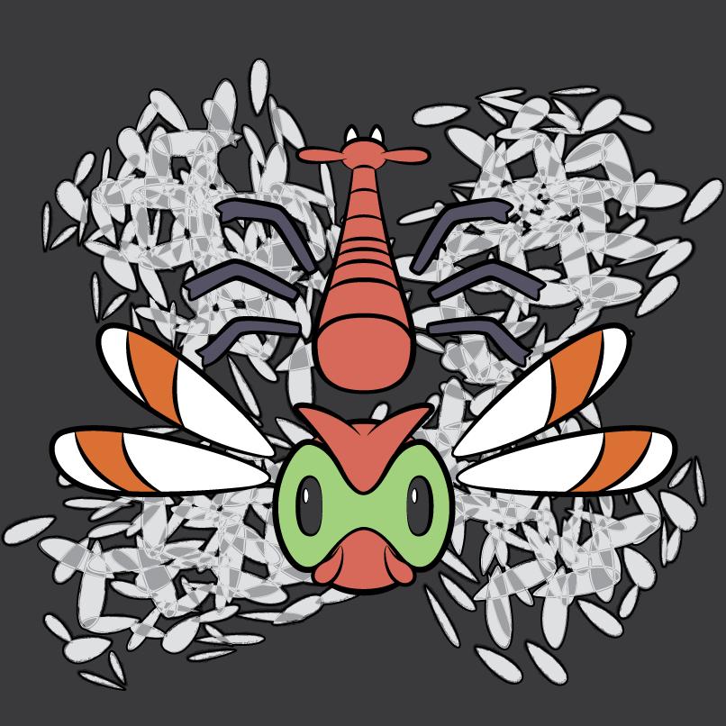 Yanma Symbol BG by Shrimpchris