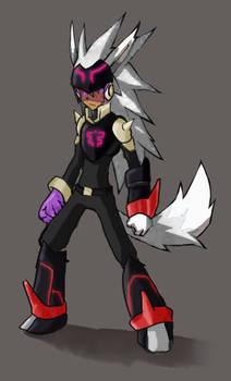 Wolf in Burai costume