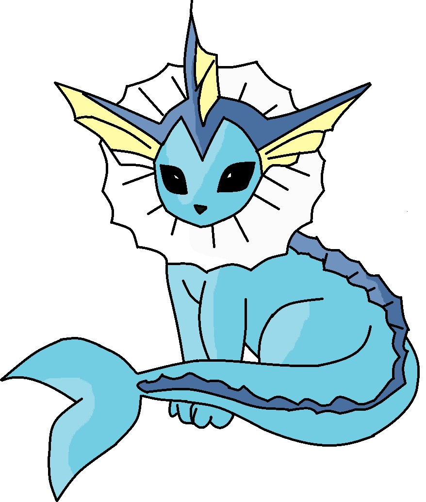 pokemon vaporeon coloring pages - photo#34