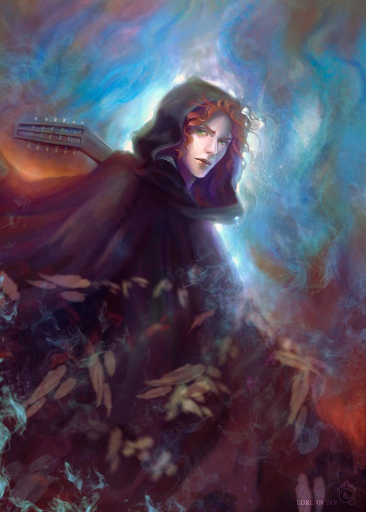 Kvothe the kingkiller by LorennTyr