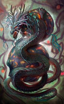 Dragon by LorennTyr
