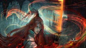 Fenix - Warlord Crowhorn- by LorennTyr