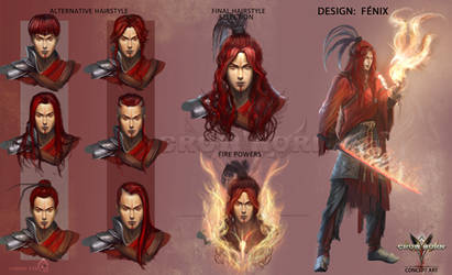 Fenix concept art -Crowhorn- by LorennTyr