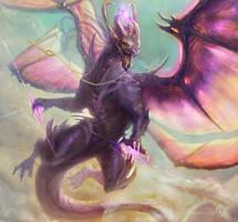 Concept dragon by LorennTyr