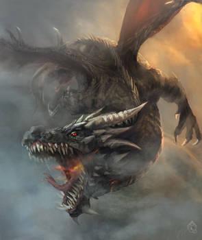 Fury dragon by LorennTyr