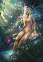 Earth Spirit by LorennTyr