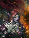 Sylvanas- Life is pain, hope fails