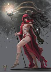 Crow Witch-Crowhorn by LorennTyr