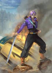 Future Trunks 2 by LorennTyr