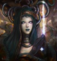 Priestess by LorennTyr