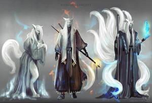 Kitsunes concept