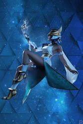 Ancient Egypt cyberpunk  (original art by Jun Luo)