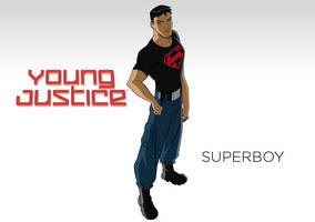 DC - Young Justice - Wallpaper - Superboy by Aerrow1324