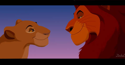 Mufasa and Sarabi by miesmauz