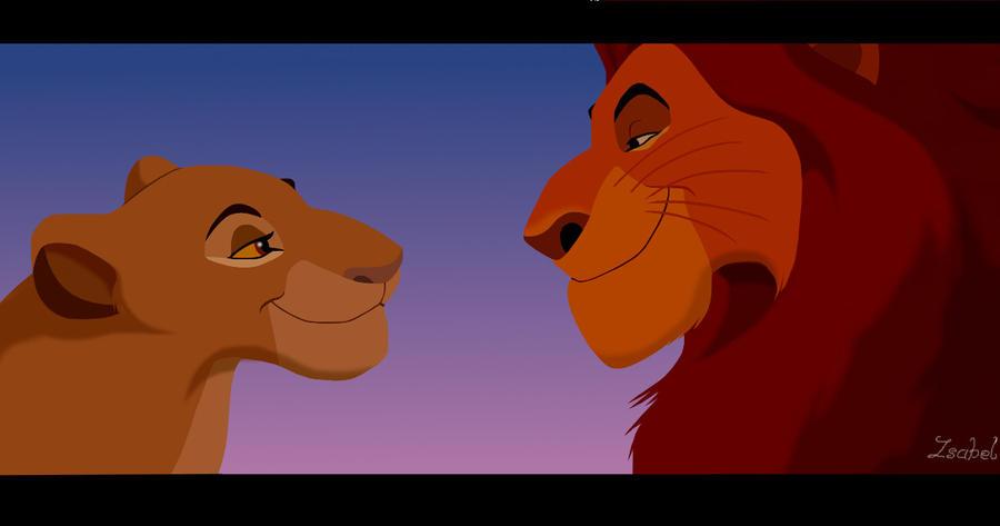 the lion king ooo mufasa and sarabi mufasa love sarabi