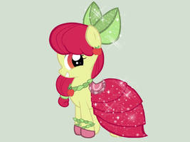 Apple Bloom - Gala Dress by miesmauz
