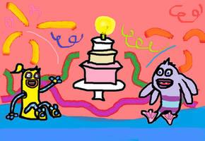 Birthday Monster Arts | Part One