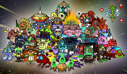 My Fanmade Monsters (as of now)