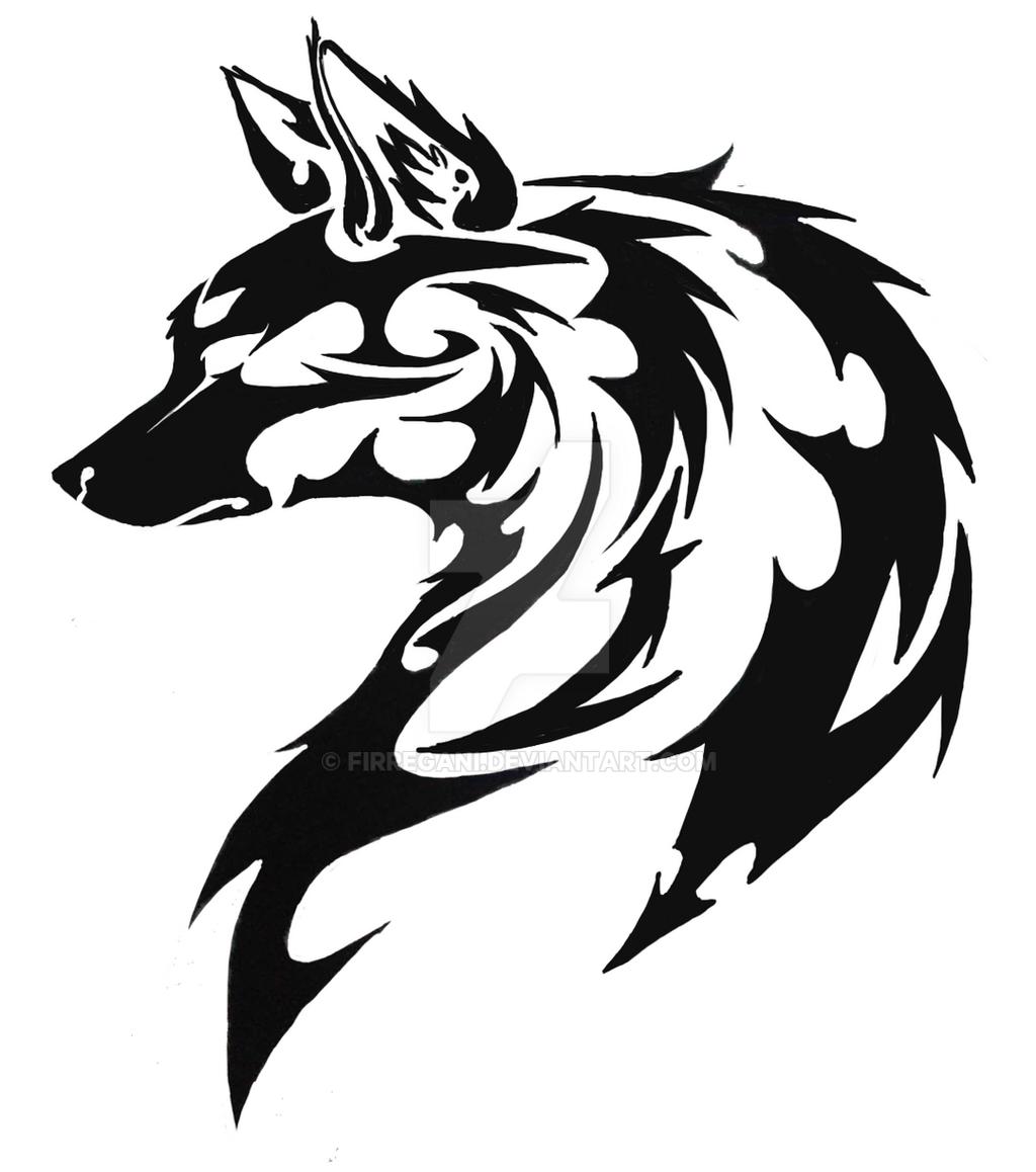 Dog Tribal by Firregani