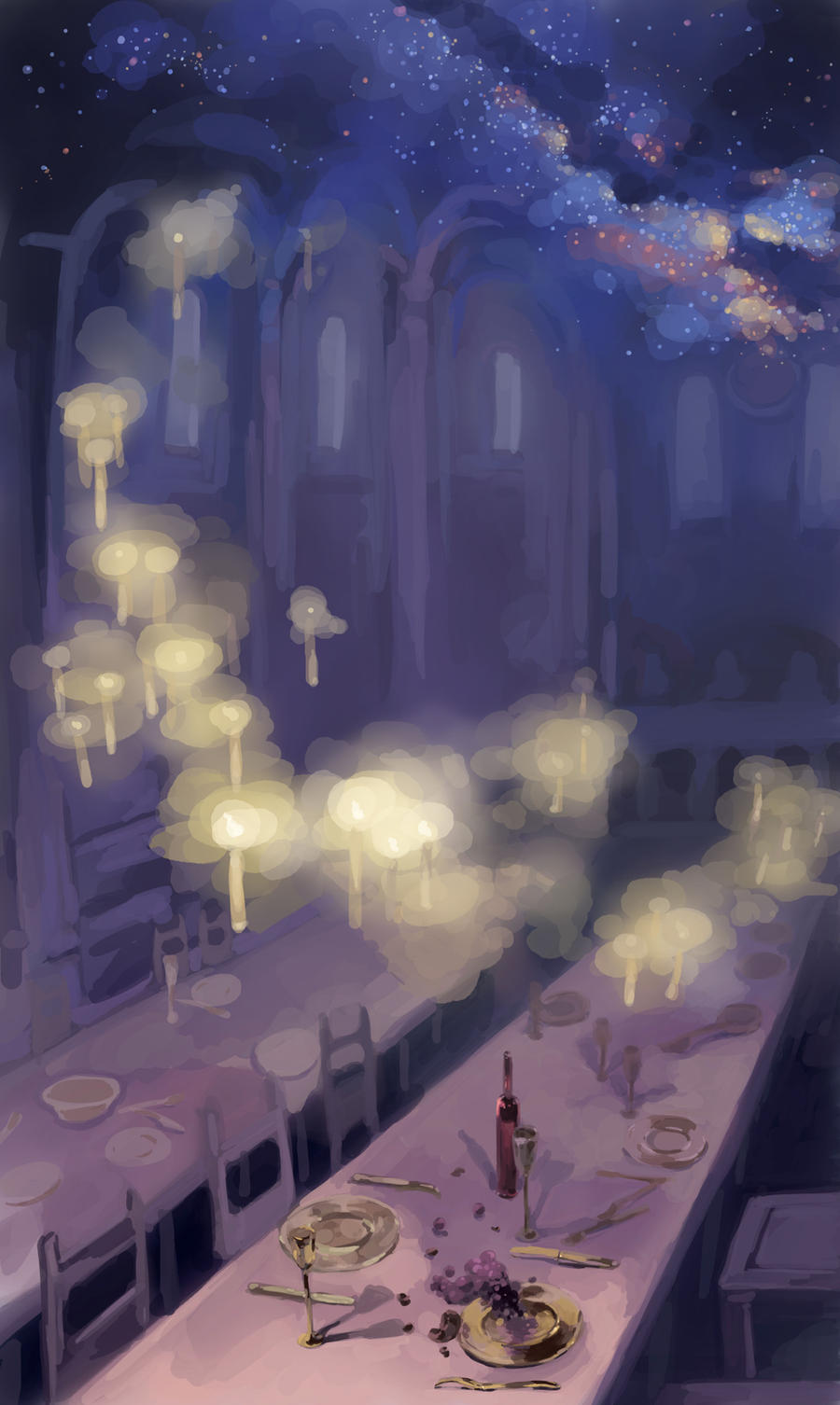Most Inspiring Wallpaper Harry Potter Purple - harry_potter_the_great_hall_by_sarriathmoonghost-d4txxi7  Picture_572699.jpg