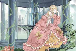 Royal dressmaker doll by sarriathmoonghost