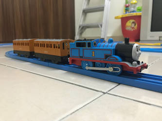 My 2018 Plarail Thomas by TheThomaGuy