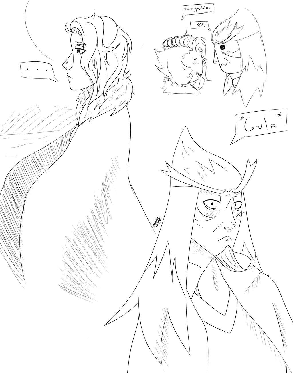 Owl Crush Doodles