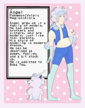 Pokemon Gijinka [Angel]