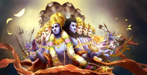 Vishnu by MXblizzzzzzz
