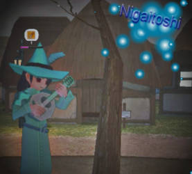Ni loves to play music