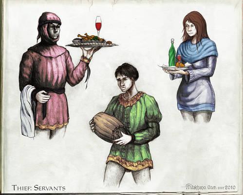 Servants.