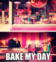 Bake My Day With Gru And Lucy by NocturnalRavers