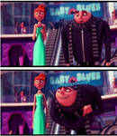 Lucy and Gru