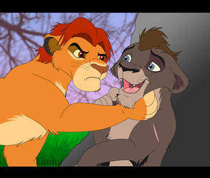Mufasa and Levar by Timitu