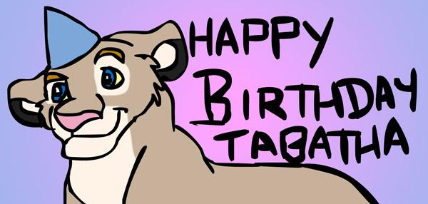 Happy Birthday Tabatha by Timitu