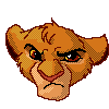 Angry Simba Pixel by Timitu