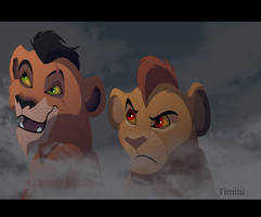 Scar and Mufasa for Live Stream