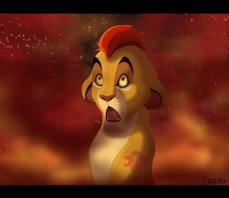 Kion in the Fire