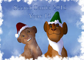 Mufasa and Sarabi Secret Santa 2016