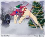 Winter Art Trade For Sun Rei
