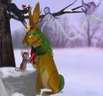 Winter Art Trade For Fluffybunny