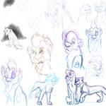 Last Doodles 1 by Timitu