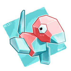 Faves Collection   Gen 1 Porygon