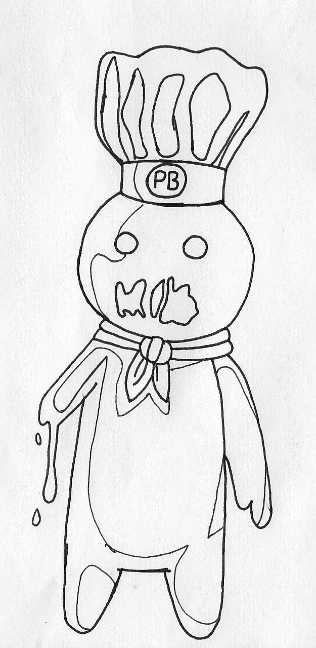 zombie pillsbury doughboy by ahzusa