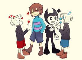 Game Characters!  by MoeruYami8