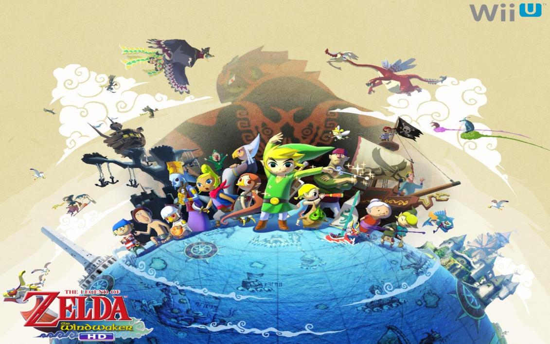 Wind Waker Hd Wallpaper: The Legend Of Zelda: The Wind Waker HD Wallpaper By