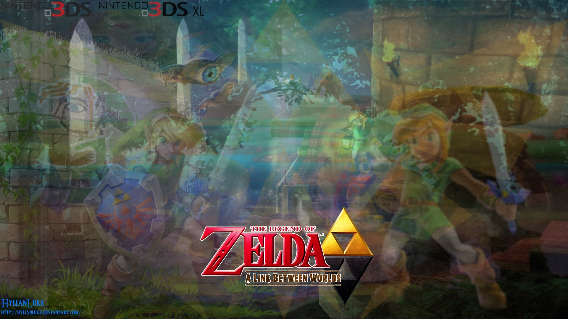 A Link Between Worlds Wallpaper 3 By Hylianluke On Deviantart