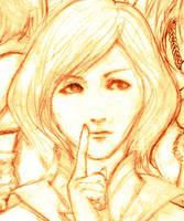 Princess nosepicker by kowan