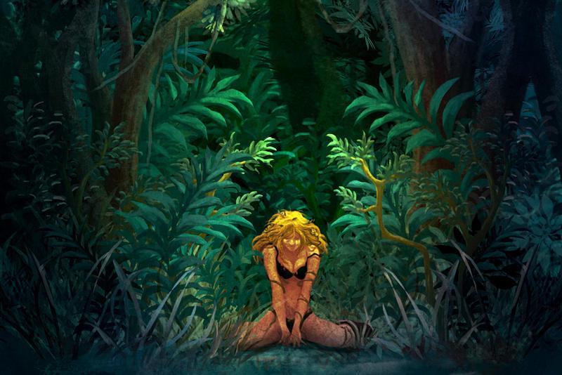Jungle woman by kowan